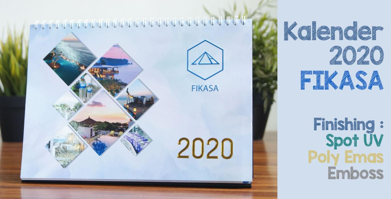 Kalender Meja 2020 PT Fikasa
