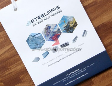 Paper Bag Perusahaan Steelaris