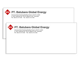 Amplop PT Batubara Global Energy
