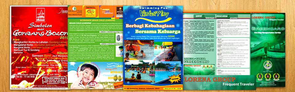 Design Flyer Cetak Brosur Flyer Design Brosur Flyer
