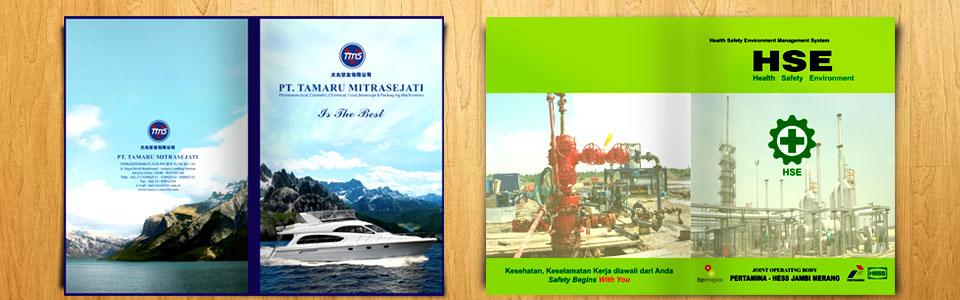 Percetakan Company Profile Design Company Profile Tamaru & HSE