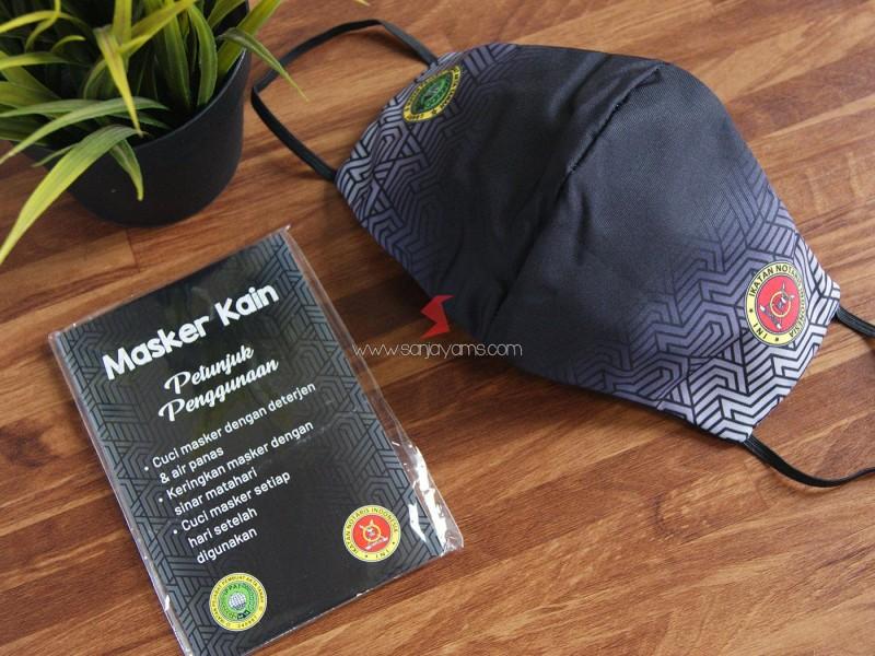 Cetak masker kain, Masker kain printing, Masker custom, Printing masker, Masker inisial, Masker keren,, Masker Batik,