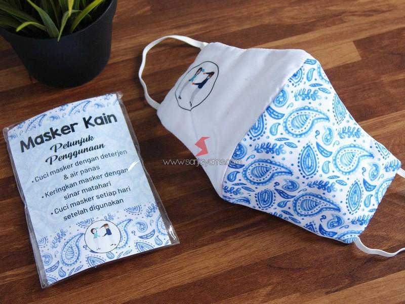 Cetak Masker, Masker Custom, Masker Kain, Masker Murah, Masker Keren, Design Menarik, Masker Printing,
