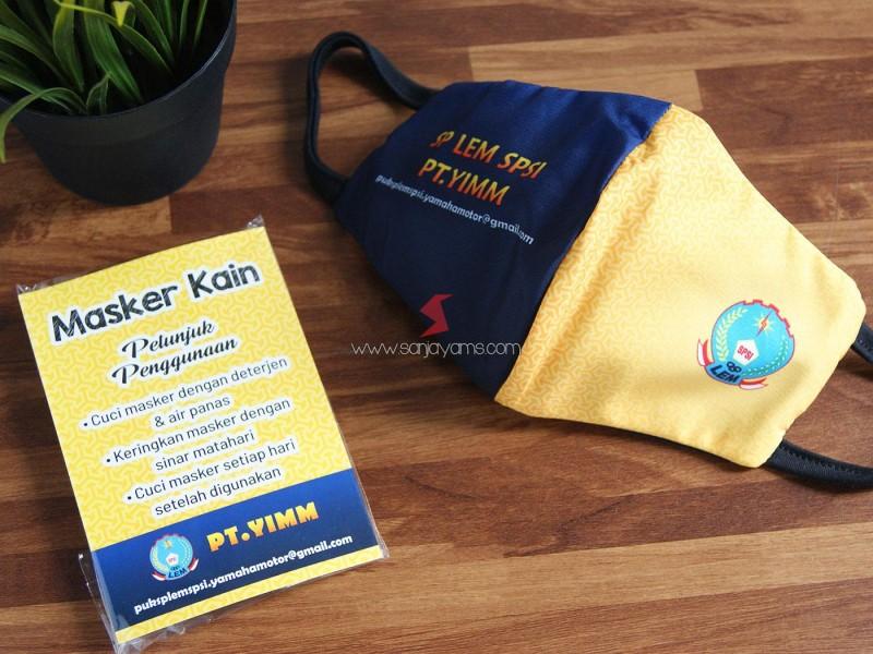 Masker Kain, Masker Printing, Masker Perusahaan, Cetak Sublim,  Masker Kain Printing Premium, Masker Hijab, Masker 3 Lapis, Masker Kain Promosi, Custom Masker, Masker Custom