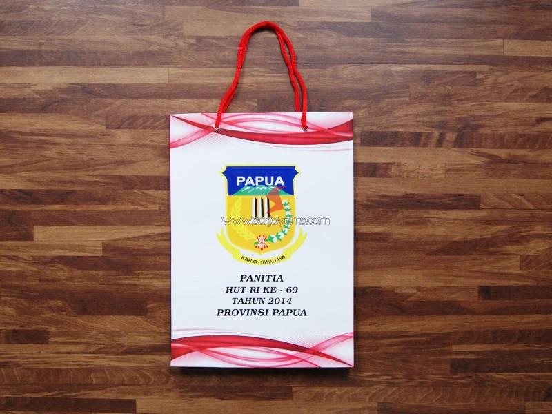 Cetak Paperbag Promosi,  Paperbag Karya Swadaya Papua