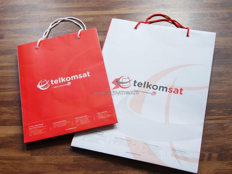 Cetak Paperbag Promosi,  Paperbag Telkomsat