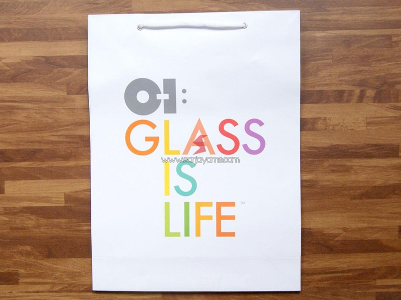 Paper Bag oi glass is life