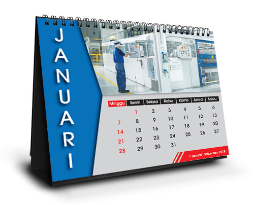 Cetak Kalender Meja 2020, Percetakan Berkualitas di Jakarta