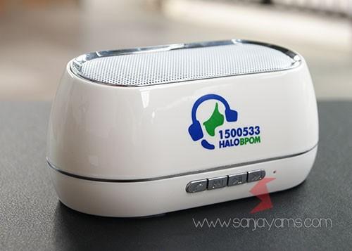 Bluetooth speaker hallo BPOM