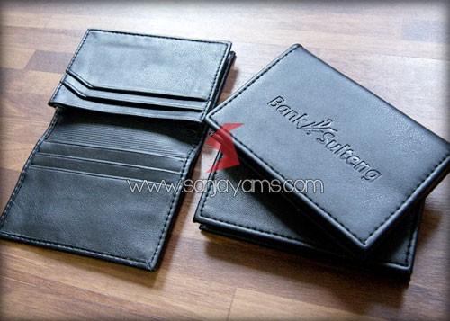 Dompet Kartu Nama Promosi, Dompet Kartu Nama Bank Sulteng