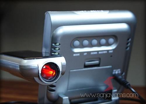 Detail lampu projector