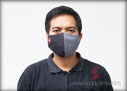 Cetak Masker, Masker Kain, Masker Printing, Masker Perusahaan,  Masker Kain Premium, Masker Adhi Karya