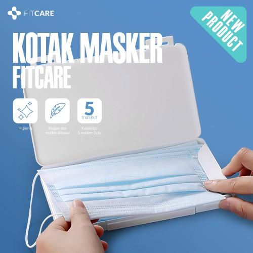 Masker Holder, Tempat Masker, Kotak Masker, Penyimpanan Masker, Produk Fitcare