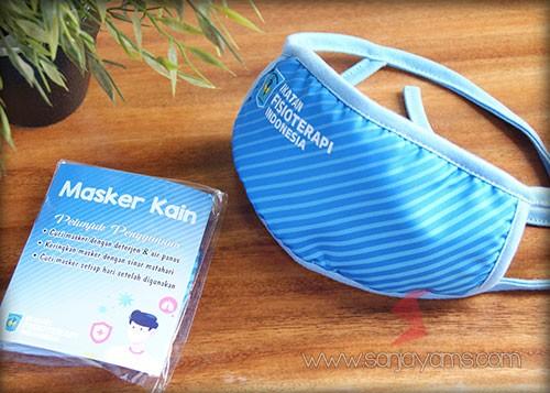 Masker Kian Premium, Masker Kain Printing, Masker Kain Ikatan Fisioterapi Indonesia