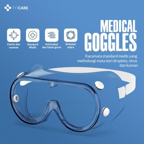 Medical Goggles, Kacamata Medis, Jual Kacamata Medis, Khusus Untuk Medis, Alat Pelindung Diri