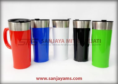 Mug Stainless Promosi, Mug Caring