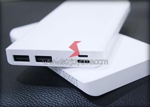 2 Output & 2 Input (1 Micro USB + 1 USB TYPE C)