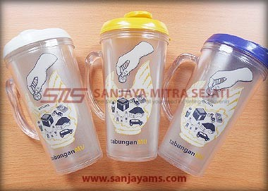Tumbler Colorful + Gagang
