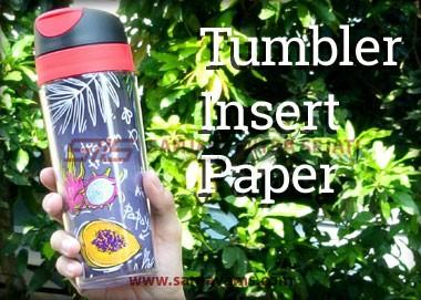 Tumbler Daytona (Insert Paper)