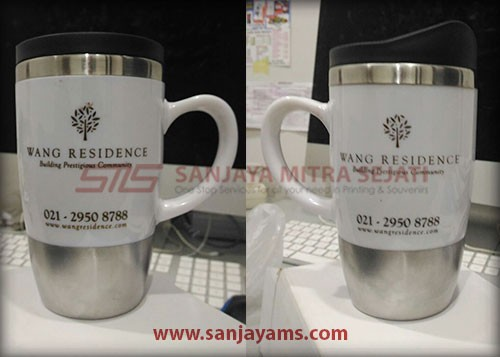 Mug Stainless Promosi, Mug Vesta