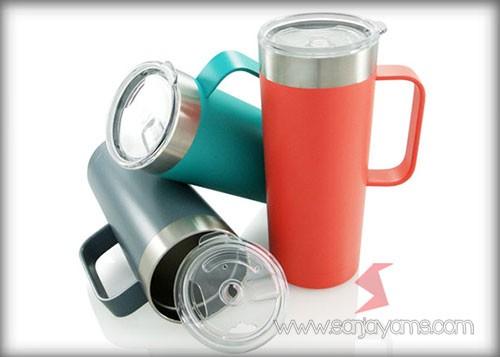 Mug Stainless Promosi, Vacuum Thermos Galaxy