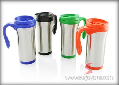 Mug Stainless Promosi, Vacuum Thermos outlander
