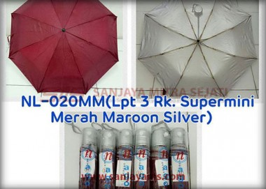 Payung Lipat 3 Supermini (NL-020)