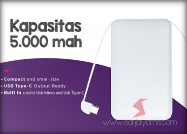 Powerbank 5.000 MAH (PL31)