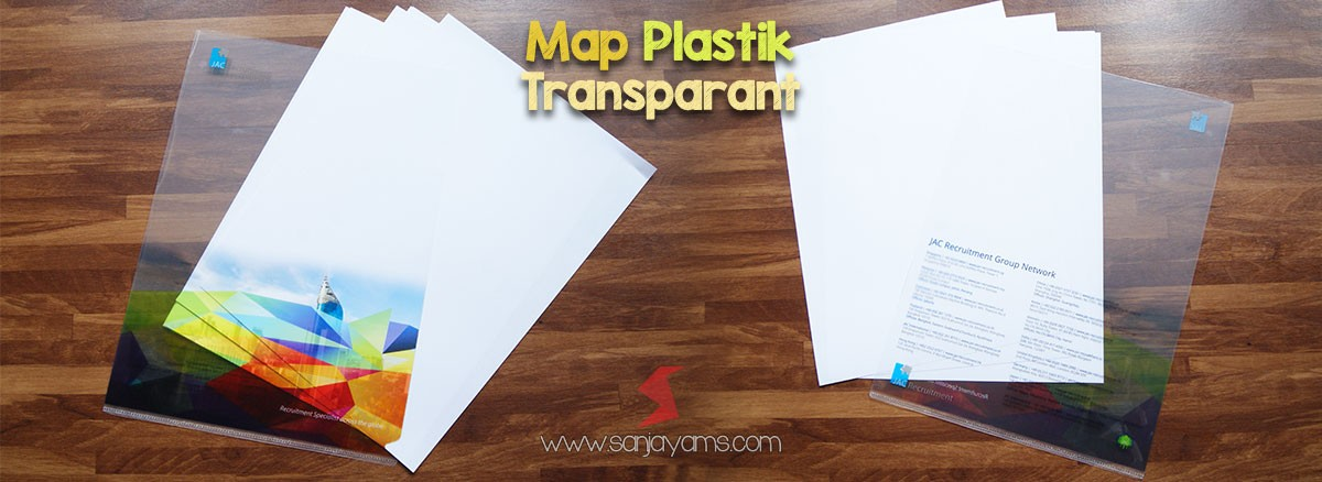 Map Plastik Model Transparant
