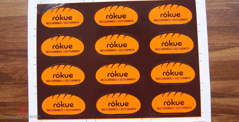 Sticker Rokue