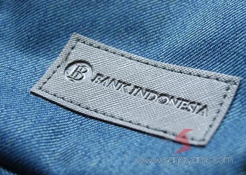 Detail cetakan logo - Bank Indonesia
