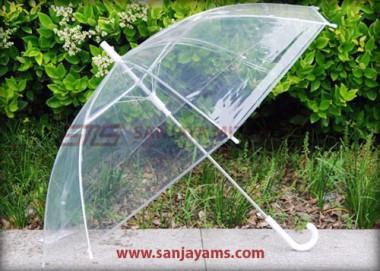 Payung Transparan Korea